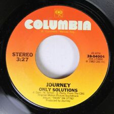 Rock 45 Journey - Only Solutions / After The Fall On Columbia