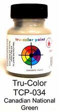 Tru-Color TCP-034 CN Canadian National Green 1 oz Paint Bottle