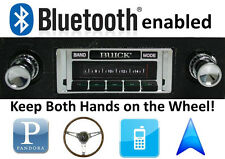 Bluetooth Enabled '62-63 Buick Skylark AM FM Stereo Radio 300 watt USB ipod in