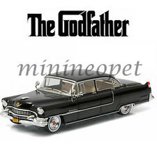GREENLIGHT 86492 THE GODFATHER 1955 CADILLAC FLEETWOOD SERIES 60 1/43 BLACK