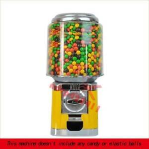 Bulk Vending Gumball Candy Dispenser Machine Wholesale Vending Products Yellow