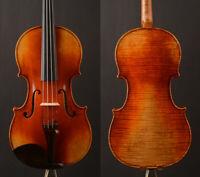 Master model! !1pc back !A Guarnieri 'del Gesu' copy violin,strong open clear