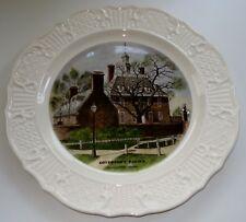 "Delano Studios Governor's Palace Williamsburg, VA 10"" Plate Made for SP Skinner"
