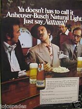 "1979 Natural Light You can Call Me Ray-Original Print Ad 8.5 x 11"""