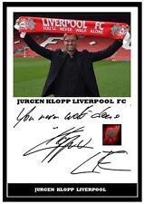 Signed Photos K Pre-Printed Football Autographs