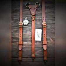Mens Suspenders, leather Suspenders, personalized Suspender, Handmade Suspenders
