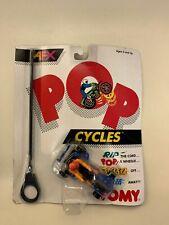 Vintage Original Afx Pop Cycles Nip Tomy 1989 Stunt Motorcycle Set of 4