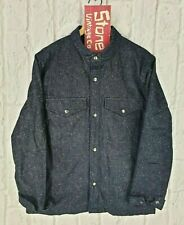 Levis Made & Crafted Blue Padded Type2 Denim Trucker Jacket Sack Coat M £395 New