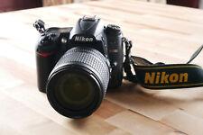Nikon D D7000 16.2MP DSLR Camera w/ Nikon 18-105mm 1:35-5.6g Lens & Strap