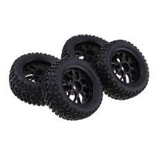 4Pc Short Course Tire Wheel Rim For HSP HPI 1:10 TRAXXAS Slash RC Car Accs-75mm