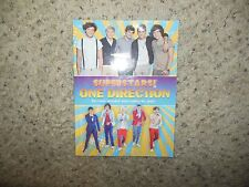 Superstars! One Direction by Superstars! (2012, Paperback) 1D BOOK