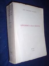 San Vincenzo Pallotti  appendice alla Regola