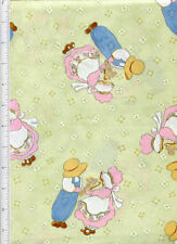 riverwoods ~ SUNBONNET SUE & OVERALL SAM ~ fabric butterfly pearl krush