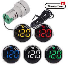Ac 50 380v 22mm Mini Led Indicator Digital Display Thermometer Temperature Meter