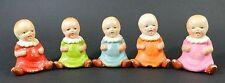Vintage Japan Quintuplet Baby Figurines