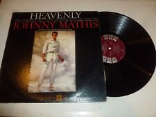 JOHNNY MATHIS - Heavenly - 1958 Canada 12-track mono LP