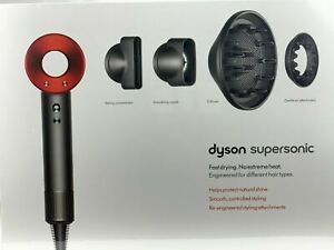 NEW!!! Dyson Supersonic hair Dryer IRON/RED HD03 (Brand New SEALED)
