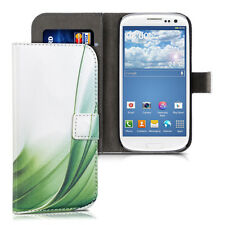 kwmobile Schutz Hülle für Samsung Galaxy S3 S3 Neo Gras Stilisiert Kunstleder