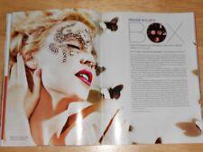 HX Magazine Kylie Minogue, Del Marquis, DJ Offer Nissim, Pal Joey AD, 2009 Gay
