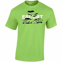 Ford Escort MK1 MK2 MK5 Inspired Collection Mens T-Shirt Gift For Dad, Uncle ETC