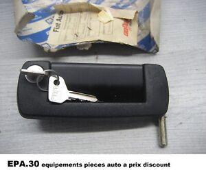 POIGNEE COMPLETE AVEC SERRURE ET CLES PORTE AVANT DROIT FIAT 126 BIS - 5998601