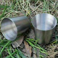 Stainless Steel Wine Drinking Shot Glasses Barware Supply-New F Cup Outdoor H5S1