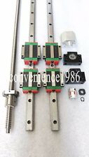 HGR20-1200mm Hiwin Liner rail & HGW20CC &RM2005-1200mm Ballscrew&BF15/BK15 Kit