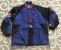 Vintage 90s New York Giants Starter / Pro Line 1990s Parka Coat Jacket Men's XL