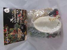 Vintage Walco Beaded Ornament Kit Christmas Eggery Diarama Elf