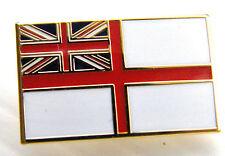 The Royal Navy Ensign Badge White RN Naval Pin Velvetine Gift Pouch Mod App