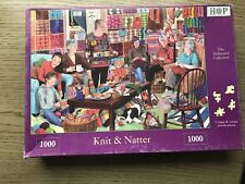 HOUSE OF PUZZLES 1000 PIECE JIGSAW PUZZLE    Knit And Natter