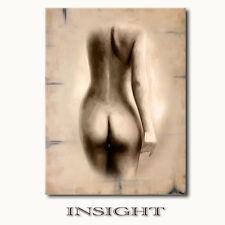 ☆INSIGHT☆ auf Leinwand Akt Frau nackt erotische moderne Kunst Bilder Wandbilder