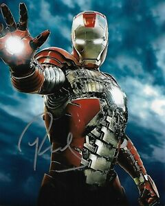 "ROBERT DOWNEY JR ""Ironman"" Autographed 8 x 10 Signed Photo COA"