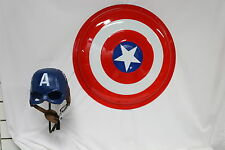 Captain America Shield and Helmet Set