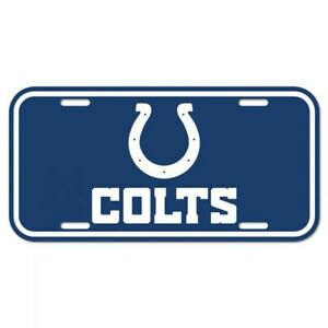 Indianapolis Colts License Plate Logo
