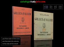italyfoto   PDF  catalogo catalogue  katalog  GILLES  FALLER  1934..1935 ca.