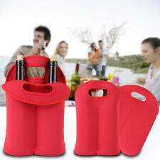 Neoprene Wine Bottle / Ice Bag Cooler Rapid Cool Can Cooling Gel Holder Gift