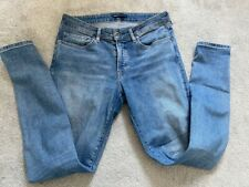 Levis Blue Denim Skinny 711 Jeans Size UK W 30 L 30 30/30