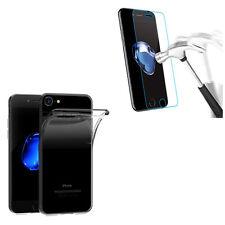 Pour Iphone 7 ( 4.7') - Pack Etui Coque Housse portefeuille + verre trempé