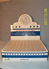 NEW--HE Harris Round Coin Tubes for Quarters-100 per Box