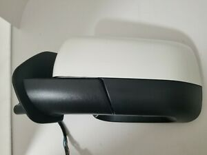 #97 WHITE FOR LAND ROVER DISCOVERY LR4 LEFT DRIVER MIRROR 2010 2011 2012-2016