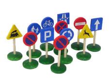 Bois de signalisation routière plus de Voitures Tracteurs Véhicules Jouet Grand cadeau de Noël