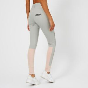 *NEW* ADIDAS BY STELLA MCCARTNEY Women's Yoga Leggings Pearl Rose/Stone XS