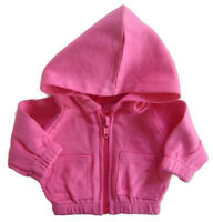 Doll Clothes fits Bitty Baby Hot Pink Hoodie Jacket DETAILED!