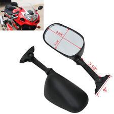 Black Rear View Mirrors For Suzuki SV1000 SV1000S 2003-2006 SV650 SV650S 03-09