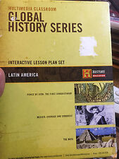 LATIN AMERICA LESSON PLAN SET (GLOBAL HISTORY SERIES) HISTORY CHANNEL