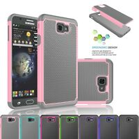 For Samsung Galaxy J7 Prime / J7 Halo Hybrid Rubber Protective Hard Case Cover