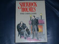 """""""Sherlock Holmes"""" Card Game.  Detective / Board / Cluedo / Party."""