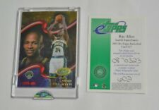 2005 ETOPPS BASKETBALL RAY ALLEN SEATTLE SUPERSONICS CARD IN HAND