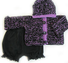 New Kss Handmade Night Sky Hooded Baby Sweater/Jacket (6-9 Months) Sw-085 Sale!
